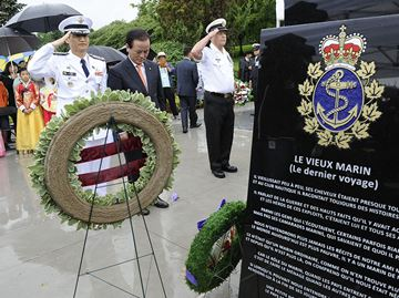 Memorial monument unveiled
