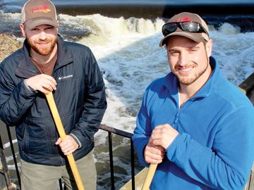 Canoeists embark on Grand Adventure
