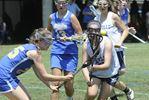 Oakville Lady Hawks field lacrosse