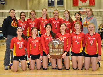 Nelson win Halton Jr. Tier 1 girls volleyball title