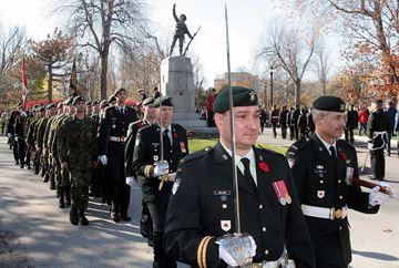 Remembrance Day in Kingston