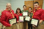 Burlington scouts and their leaders honoured for saving man's life
