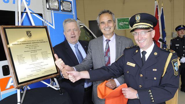 $2.5 million Oakville paramedic station officially open