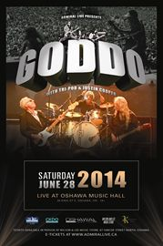 Goddo with TRI-POD & Justin Cooper - June 28, 2014 - Oshawa Music Hall