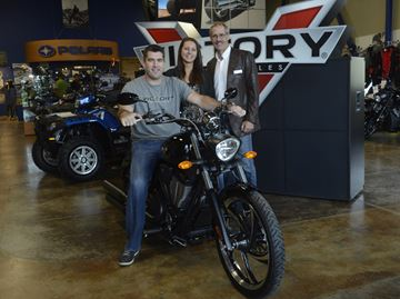 Victory motorcycle up for grabs with Carpenter Hospice's latest raffle