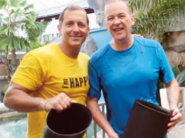 Mayors take a plunge for ALS Ice Bucket Challenge