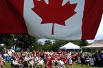 Canada Day on the Mountain
