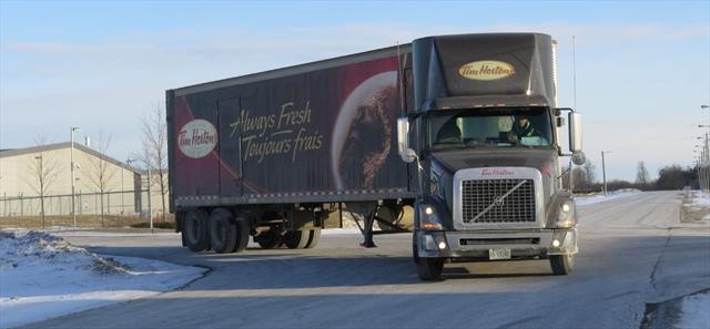 Hortons truck