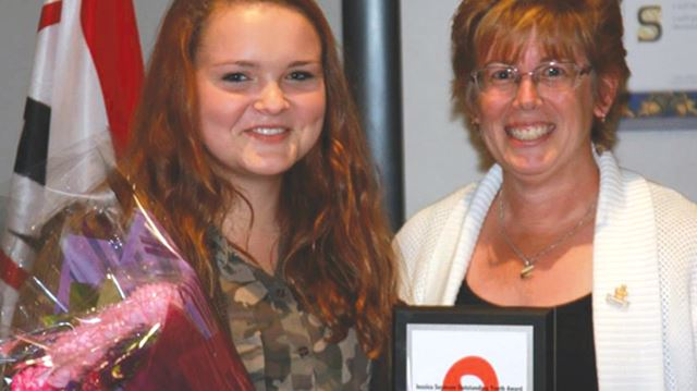 Markham student honoured