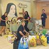 Food drive held at Midland's St. Theresa's Catholic High School