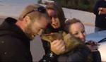 Puppy reunited