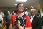 Jennifer French win celebrates