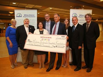 Milton District Hospital Foundation gets a boost from Woodbine Entertainment Group
