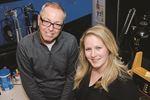 Dave Collins and Rachel Gilbert