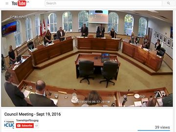 Camera rolling in Scugog chambers as Township looks to post meetings online