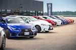 Lexus lets F Sport speak for itself