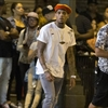 Chris Brown leaves his mansion after police standoff-Image1