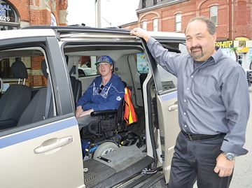 Wheelchair-accessible taxi in Midland launches after fundraising campaign