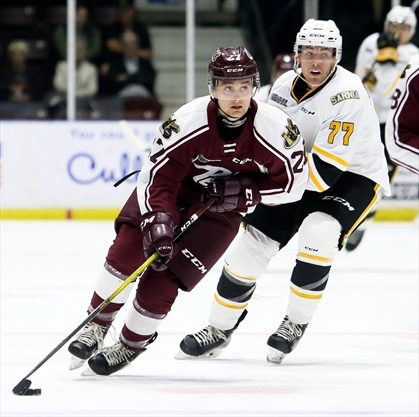 Big Mac breaks tie for another Peterborough Petes road win