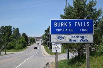 Welcome to Burk's Falls