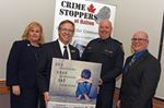 ''Speak up': Halton Crime Stoppers