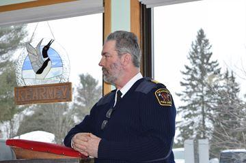 Fire Chief Bob Harrison
