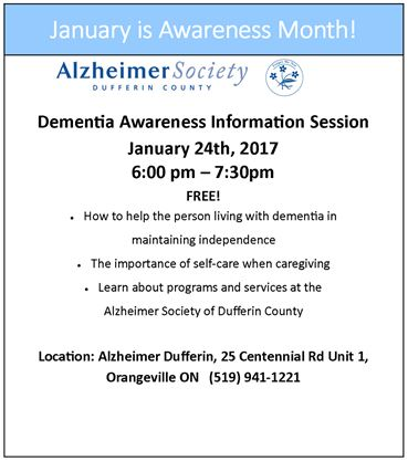 Dementia awareness unit