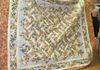 Bonny Fox and St. Anne's lattice quilt