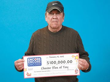 $100,000 jackpots won by Simcoe County lottery players