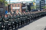 Barrie parade kicks off Borden's centennial