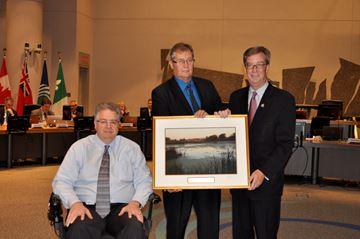 Rainer Bloess retires from city council