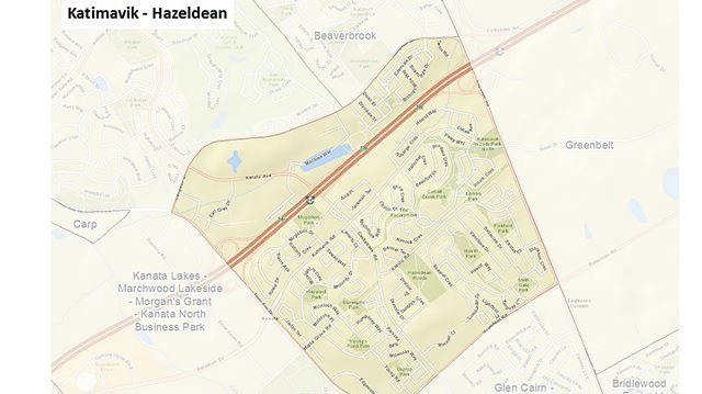 Neighbourhood study boundary changes in the works for Kanata