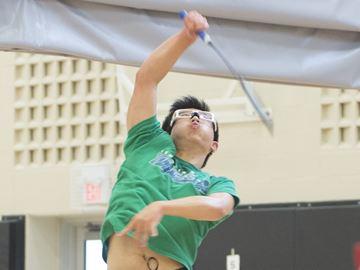 Wang, Yu win GHAC badminton singles titles to earn return trip to OFSAA