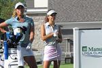 Cheyenne Woods and Selena Costabile