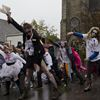 Zombies invade Cambridge Farmers' Market