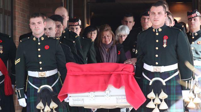 Ottawa honours slain Cpl. Nathan Cirillo