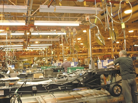 General motors welcomes ceva logistics to truck assembly for General motors assembly plant
