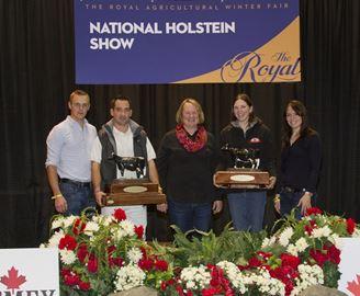 Holstein Canada award