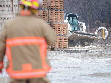 Cobourg gas leak