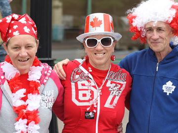 Collingwood residents reaffirm citizenship on Canada Day