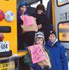 Glen Ridge school fills the bus for Community Care
