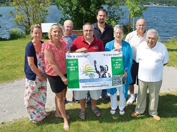 Countdown begins to Rendezvous Champlain in Penetanguishene