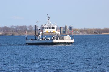 Ferry at Amherst Island