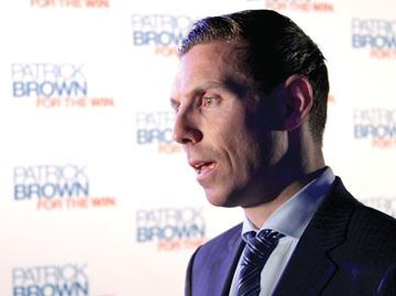 Progressive Conservative Leader Patrick Brown In Durham For Town Hall Meeting Aug 29