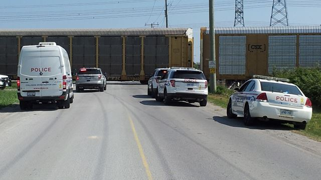 Man sustains life-threatening injuries as car struck by train in Clarington