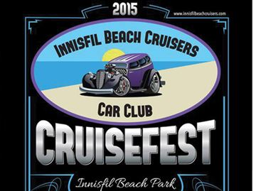 Innisfil Beach Cruisers showing off wheels Saturday