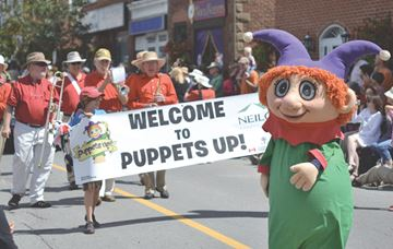 Puppets on parade