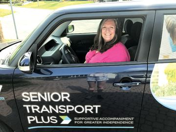 Nina Lewin, who operates Senior Transport Plus, recently completed the Starter Company Plus program, administered by Hamilton Small Business Enterprise Centre.