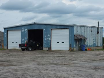 The public works garage in Whitestone is being renovated with an addition. Work is set to start this fall.