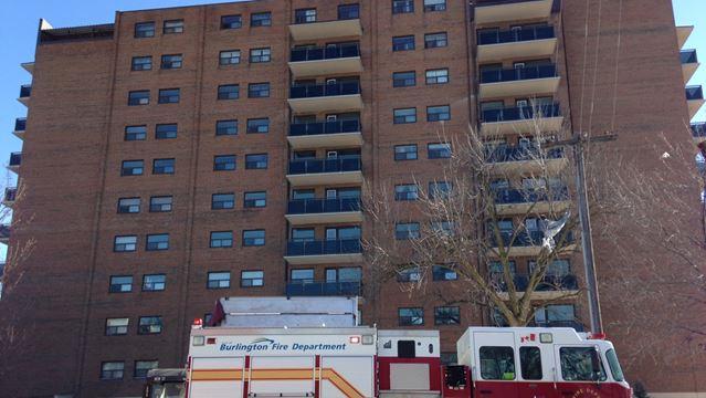 Careless smoking suspected cause of fire in Burlington apartment